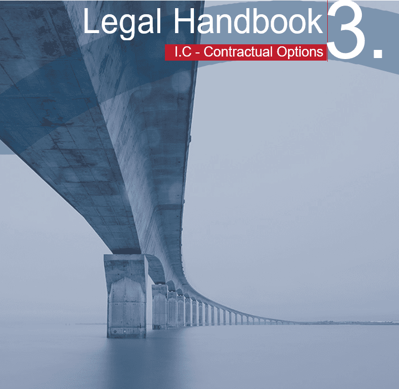 HANDBOOK Cover 3 - Contractual options in China