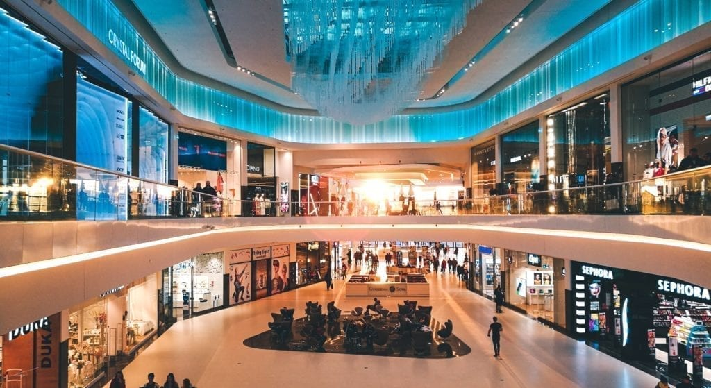luxury group and mass retail